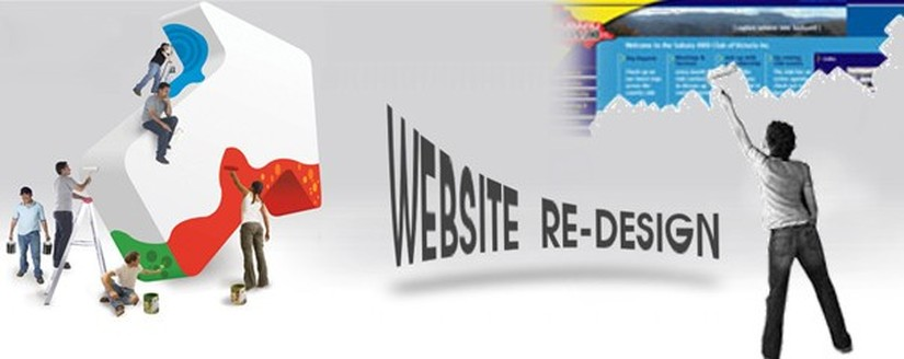 Web design: Optimization or Redesign