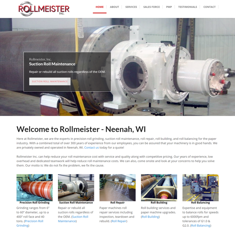 Rollmeister - Neenah, WI - Roll Service Center